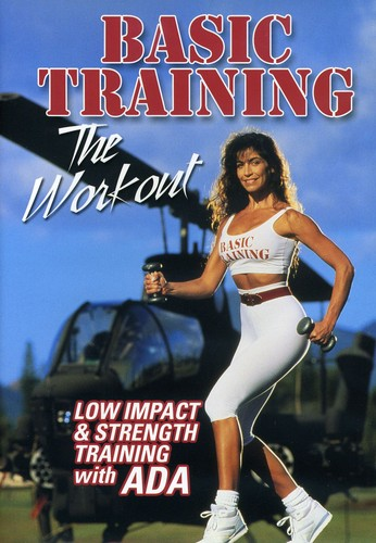 Basic Training With Ada: Low Impact and Strength Training Workout by Ada Jancwicz(Actor), Rob Hearn(Director)Rated: NR