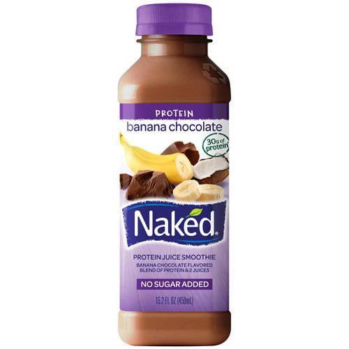 Naked Banana Chocolate Protein Juice Smoothie, 15.2 fl oz