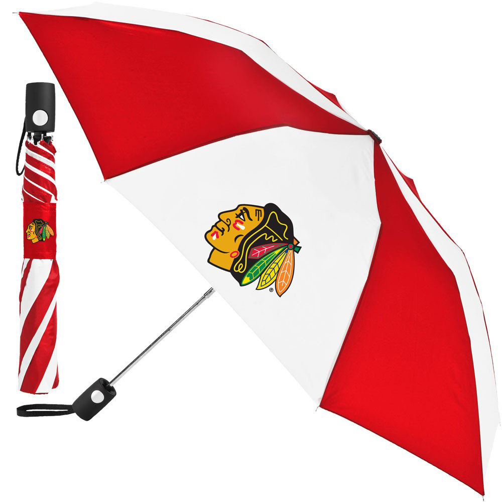 "Chicago Blackhawks WinCraft 42"" Folding Umbrella - No Size"