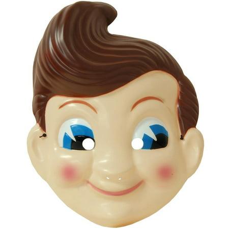 Big Boy Plastic Adult Costume Mask 18