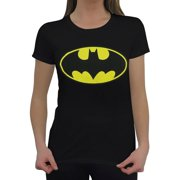 Batman/Classic Logo S/S Women's Tee Black Bm288