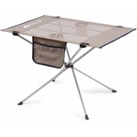 Ozark Trail Large Compact High-Tension Side Table (Warm Gray)