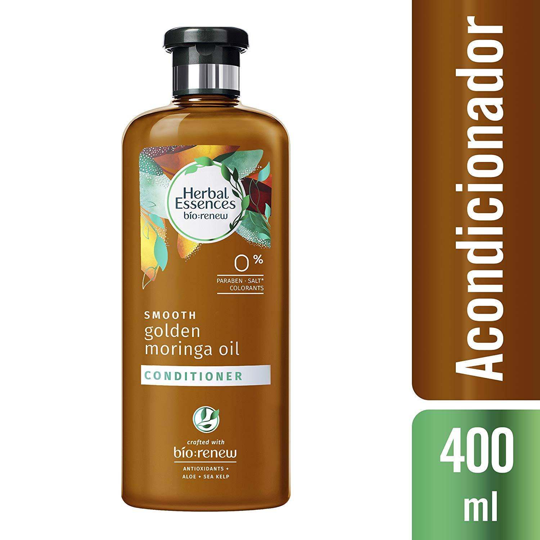 2 Pack Herbal Essences Bio:Renew Smooth Conditioner, Golden Moringa Oil 13.5 oz
