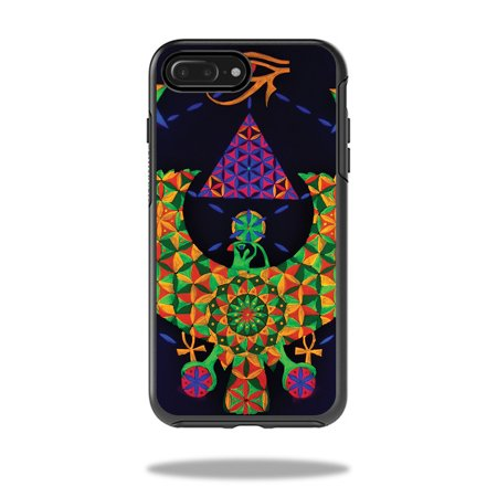 MightySkins Skin For OtterBox Symmetry iPhone Plus Case - disco floor | Protective, Durable, and Unique Vinyl Decal wrap cover | Easy To Apply, Remove, and Change Styles | Made in the USA