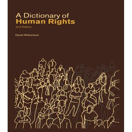 A Dictionary of Human Rights - eBook