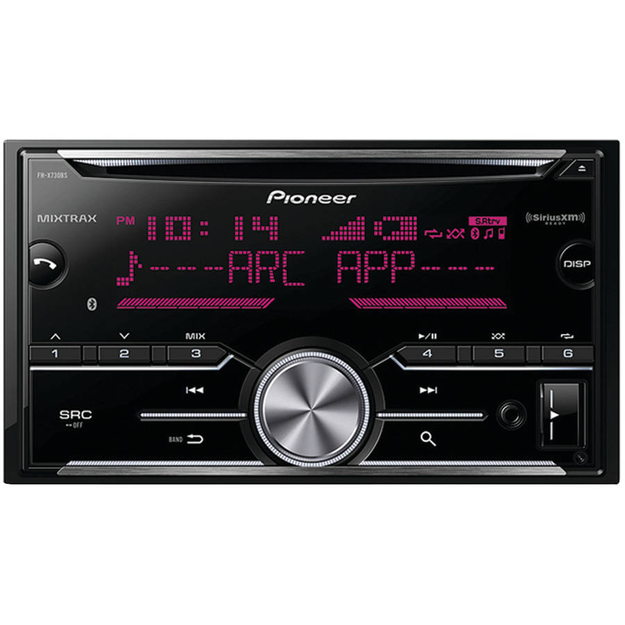 Pioneer FH-X730BS Double-DIN In-Dash CD Receiver with MIXTRAX, Bluetooth and SiriusXM Ready