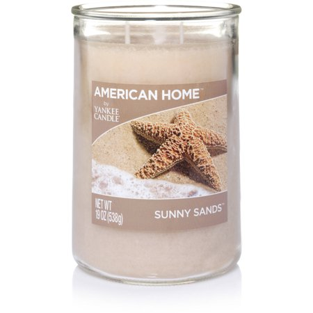 American Home by Yankee Candle Sunny Sands, 19 oz Large 2-Wick Tumbler