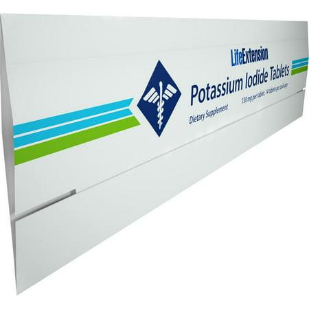 Life Extension Potassium Iodide 130 mg - 14 Tablets