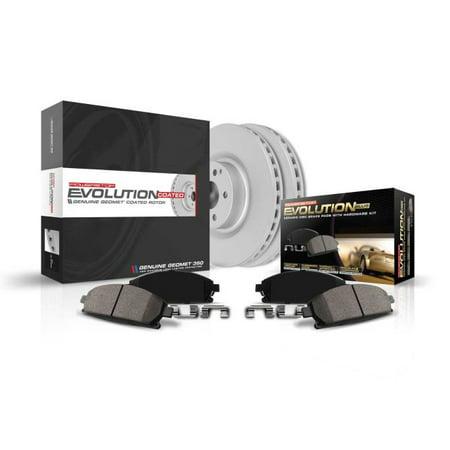 Power Stop Rear Geomet Coated Rotor and Brake Kit CRK7717 2017-2018 Buick Lacrosse 2018 Buick Regal Sportback 2018 Buick Regal TOU Buick Lacrosse Rotor
