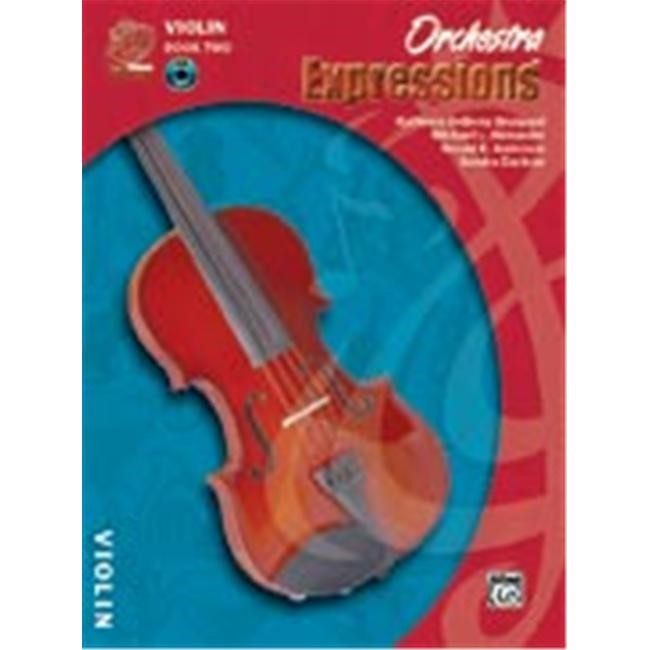 Alfred Orchestra Expressions Book Two Student Edition Violin Book & CD 1