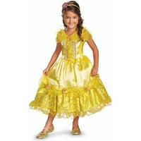 Disney Belle Deluxe Sparkle Girls' Child Halloween Costume