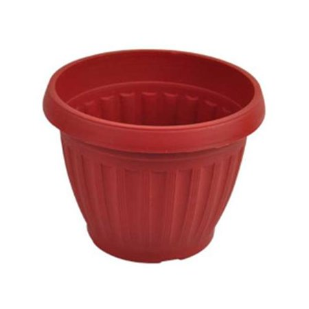 Bulk Buys Uu759 Clay Look Round Flower Pot Case Of 24