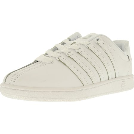 K-Swiss Boy's Classic Vn Leather Ankle-High Leather Fashion Sneaker
