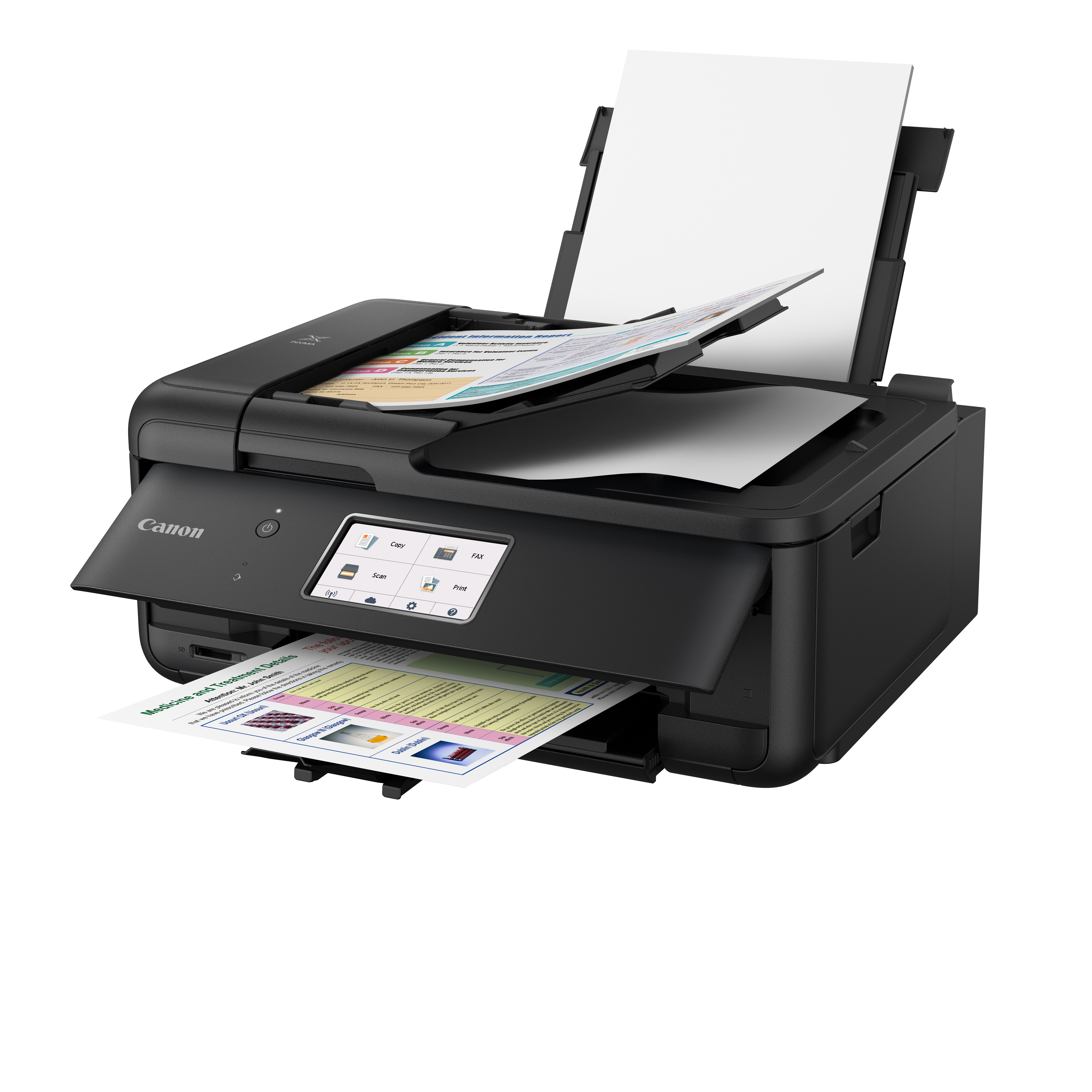 Canon PIXMA TR8520 Wireless Home Office All In One Printer With Scanner,  Copier