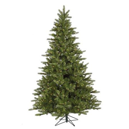 Vickerman Pre-Lit 5.5 King Spruce Artificial Christmas Tree, LED, Warm White Lights
