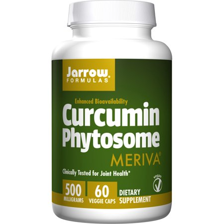 Jarrow Formulas Curcumin Phytosome , Promotes Joint Nutrition, 500 mg, 60 Capsules Formula Herbal Blend 60 Capsules