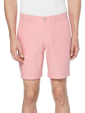 Original Penguin Mens Slim Fit Oxford Casual Shorts