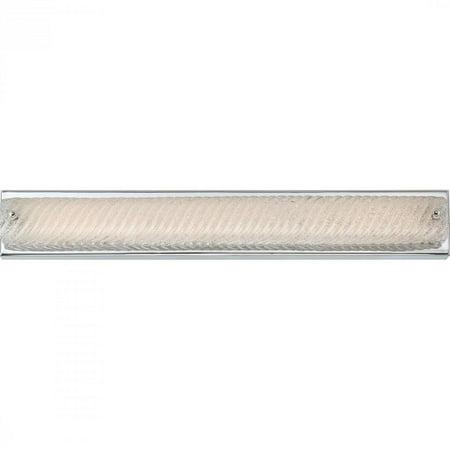 Quoizel Platinum Bath Fixture with L E D Lights in Polished Chrome - image 1 de 1