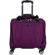 Delsey Cruiser - 15 Inch - Purple 4-Wheel Spinner Tote Bag