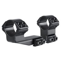 Hawke Sport Optics 2pc 1in. 9-11mm High 2in. Extension Rings, Black HM6165