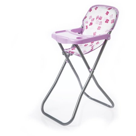 Manhattan Toy Baby Stella Doll Blissful Blooms High (Doll High Chair Set)