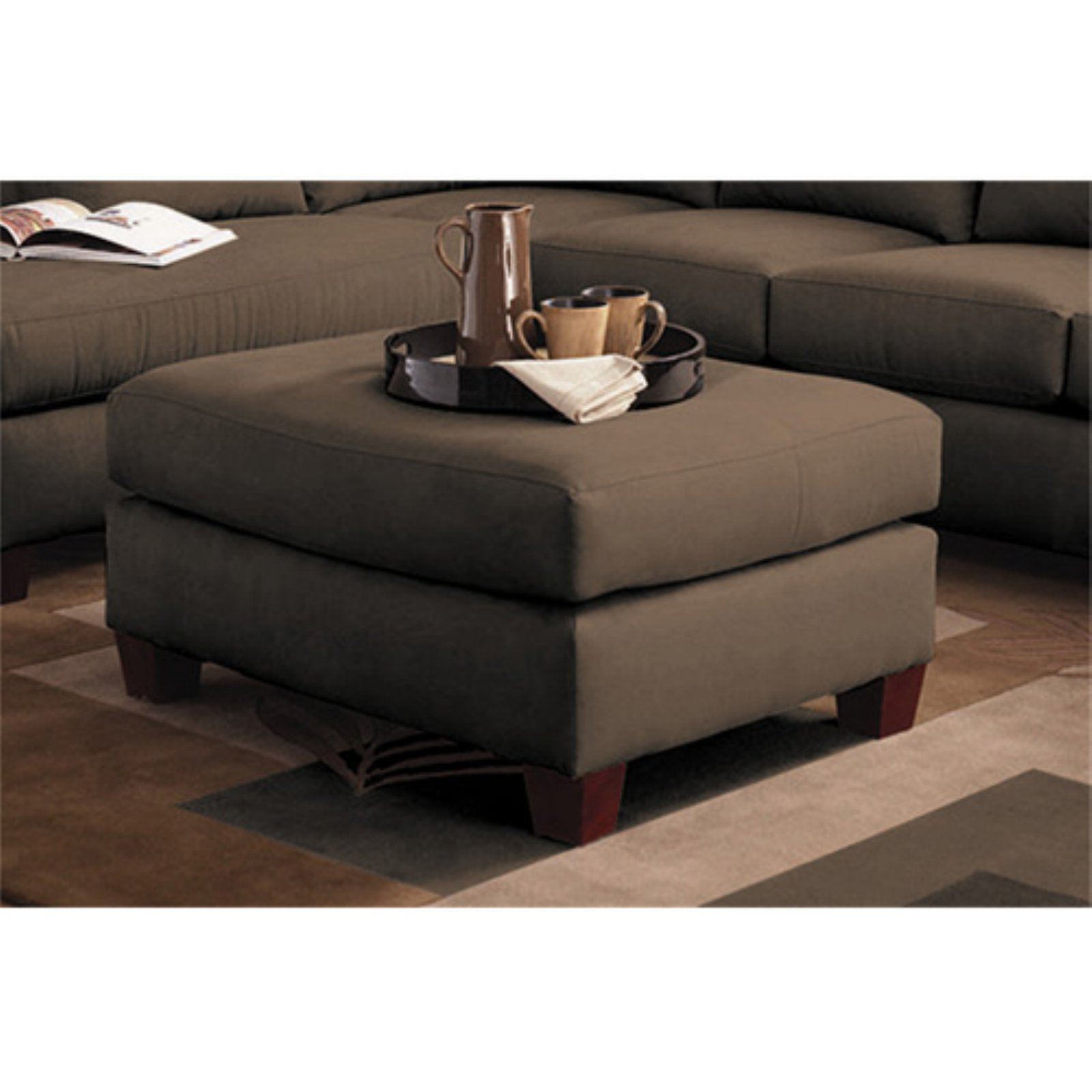 Klaussner Furniture Higgins Ottoman