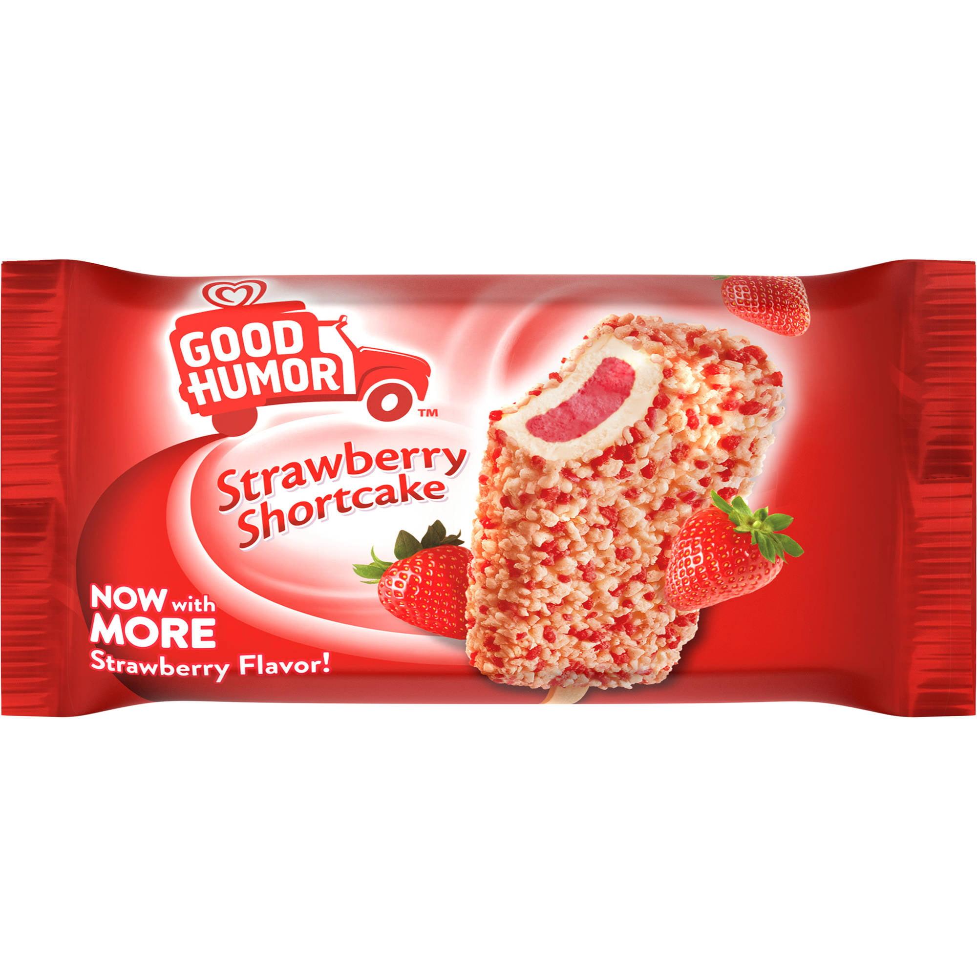 Good Humor Ice Cream & Frozen Desserts Strawberry Shortcake Single Bar, 4 oz