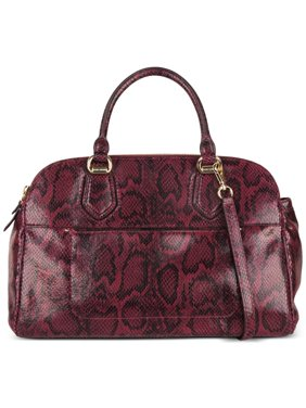 09b4675259f Product Image Cole Haan Tali Double Zip Snake-Embossed Satchel