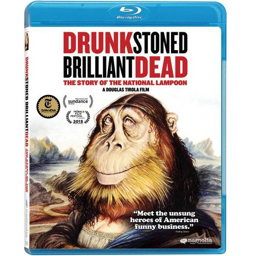 Drunk Stoned Brilliant Dead: The Story Of The National Lampoon (Blu-ray)