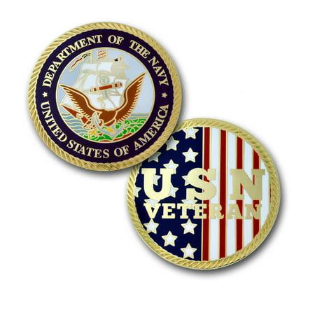 PinMart's U.S. Navy Veteran Commemorative Challenge Coin Veterans Day Gift