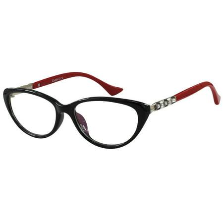 Ebe Women Reading Glasses Medium Coverage Anti Reflective TR90 Flex Material (Best Glasses Lens Material)