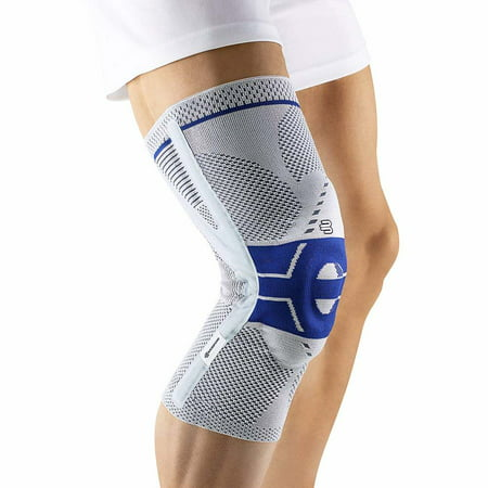 Bauerfeind - GenuTrain P3 - Knee Support - for Misalignment of The Kneecap- Titanium, Right Knee, Size 3