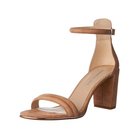 460e9ee0aab Kenneth Cole New York Lex Suede Ankle Strap Sandal Heel - image 2 of 2 ...