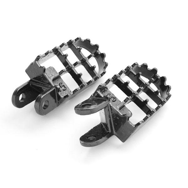 MX Foot Pegs Motocross Dirt Bike Footrests L & R For 1996-2002 Honda CR80R Expert - image 1 de 5