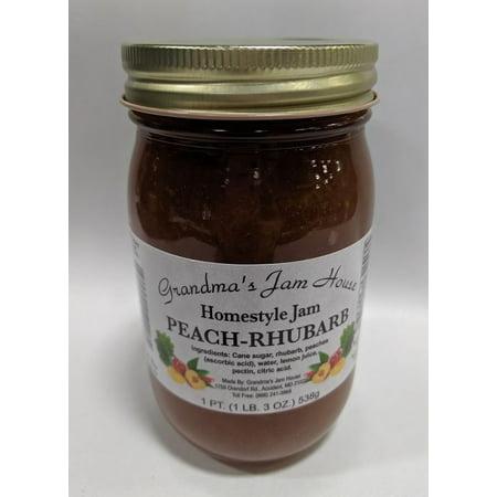 Rhubarb Jam - Grandma's Peach-Rhubarb Jam