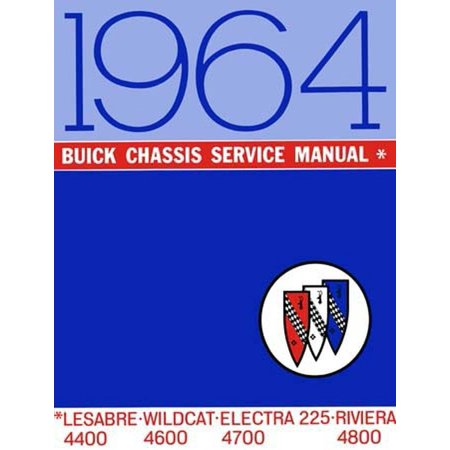 Bishko OEM Repair Maintenance Shop Manual Bound for Buick Electra, Lesabre, Riviera, Wildcat - Chassis (1964 Buick Wildcat Convertible)