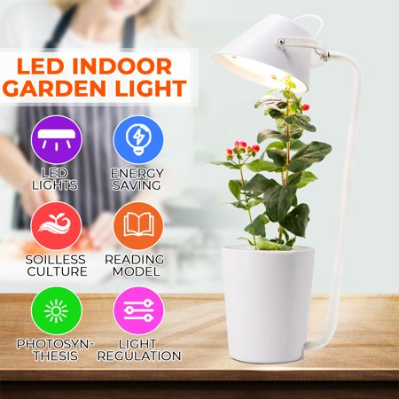 Ecoo Grower 25W Indoor Plant Grow pot,Single Pods Indoor Plant Hydroponics Grow...
