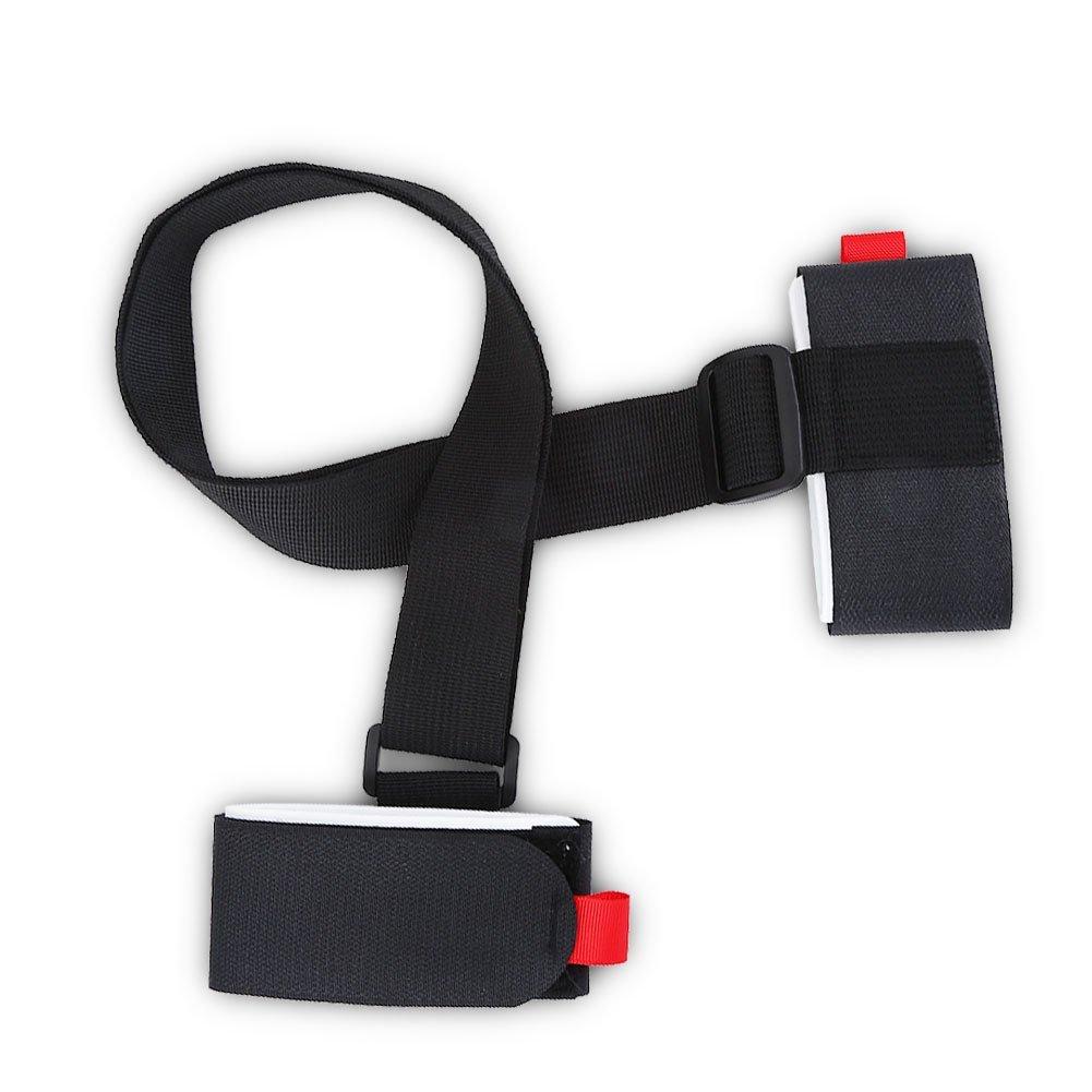 Comfortable Ski Snowboard Shoulder Carrier Nylon Strap Holder Snowboarding Accessory by