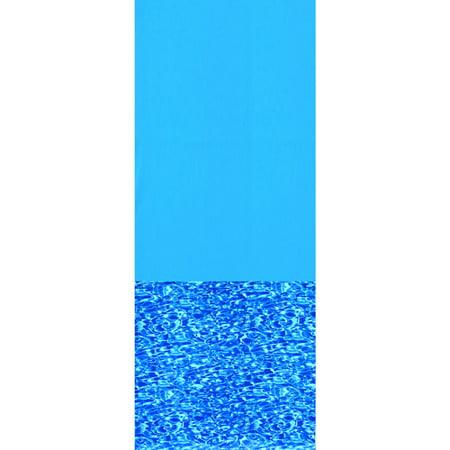 Swimline Swirl Bottom 15' x 26' Oval Overlap Pool Liner, 48