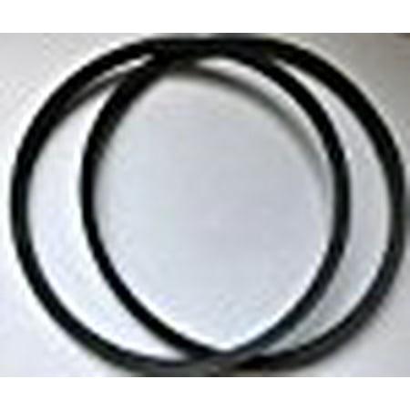 2 NEW BELTS DELTA Cross Hair Laser 16 1/2 inch DRILL PRESS 17-900 17-950L