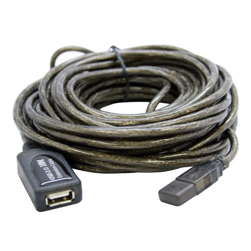 Sabrent Cb-usbxt Usb Data Transfer Cable - 32 Ft - Extension Cable Type A Male Usb - Type A Female Usb - Micropac (cbusbxt)
