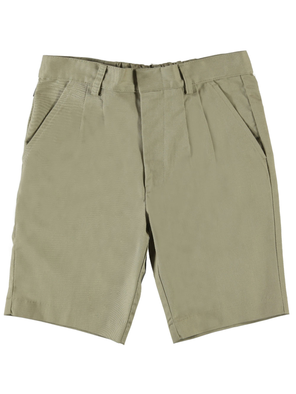 Universal Basic Unisex Pleated Shorts (Sizes 8 - 20)