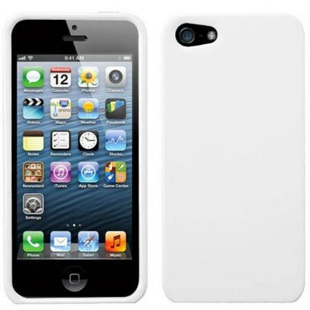 Him Solid Case (Apple iPhone 5/5S MyBat Protector Case, Solid Dark)