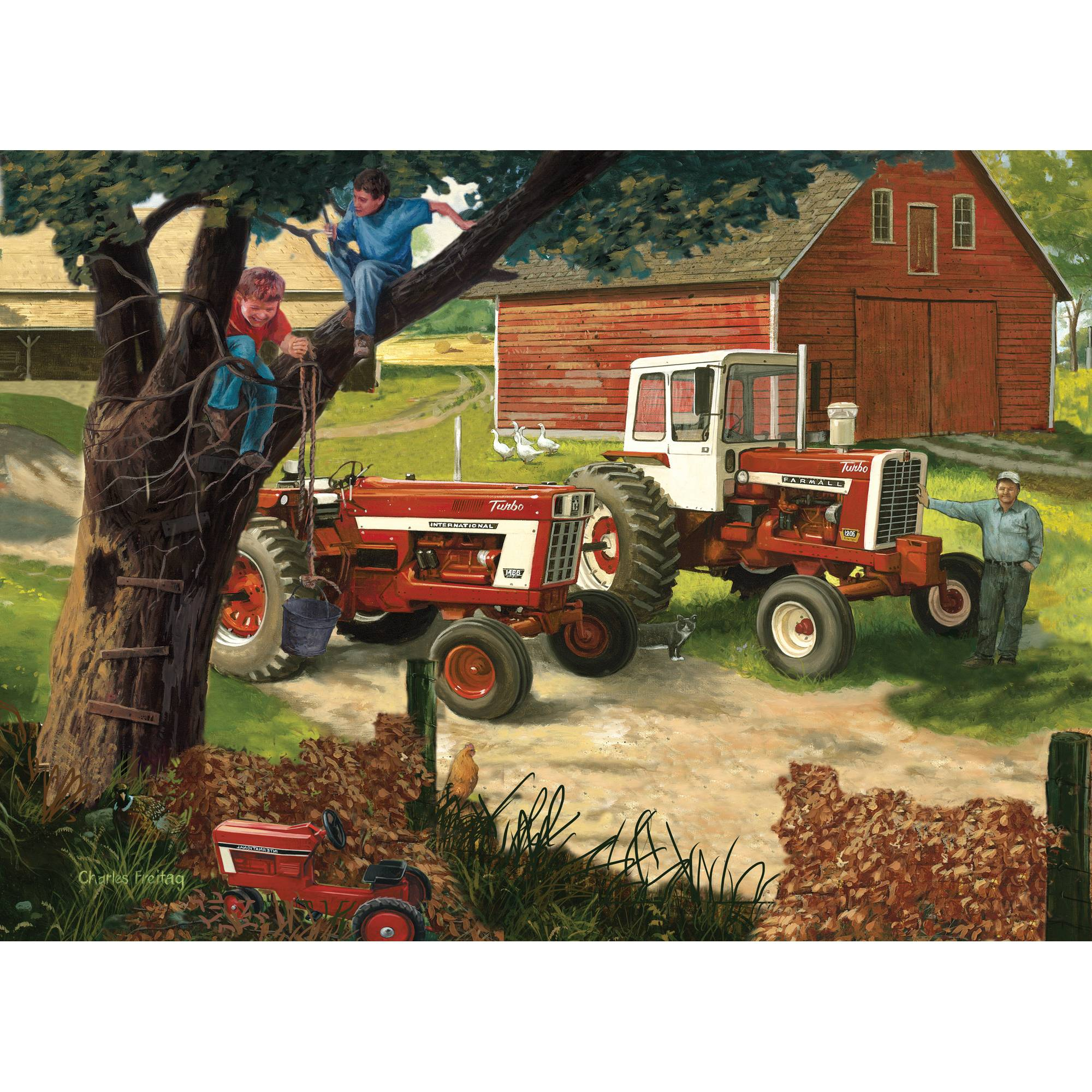 MasterPieces Boys and Their Toys 1000 Piece Puzzle