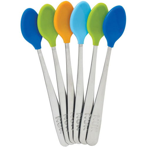 Gerber Graduates Soft Bite Infants Spoons, BPA-Free, 6 count