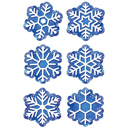 Snowflakes Cut Outs, 3