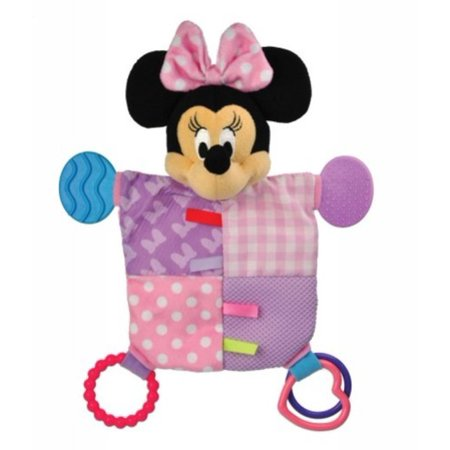 Kids Preferred Disney Baby Minnie Mouse Flat Blanky Teether
