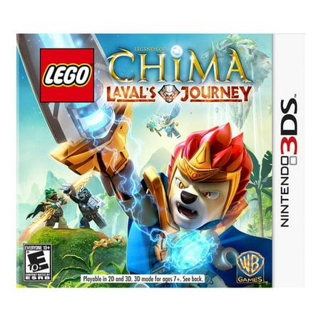 LEGO Legends of Chima: Lavals Journey, Warner Bros, Nintendo 3DS, 883929319626
