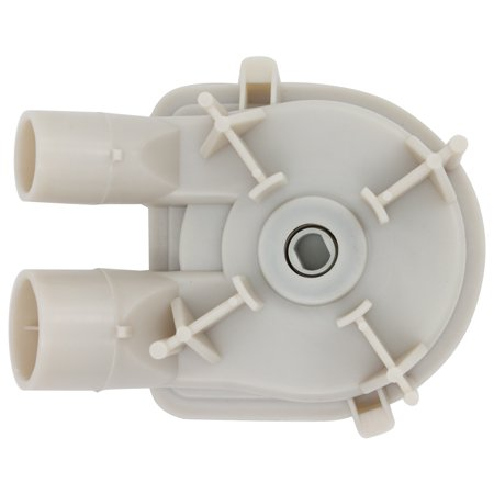 3363394 Washing Machine Pump Replacement for Whirlpool LA5800XTG0 Washer - Compatible with WP3363394 Washer Water Pump Assembly - UpStart Components Brand - image 4 de 4