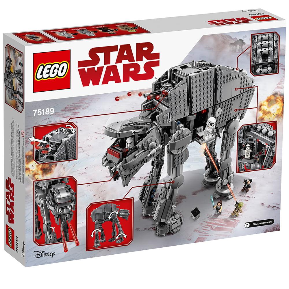 Lego Star Wars Tm First Order Heavy Assault Walker 75189 Walmart